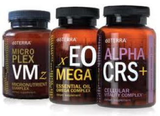 Essential oil-inspired supplements